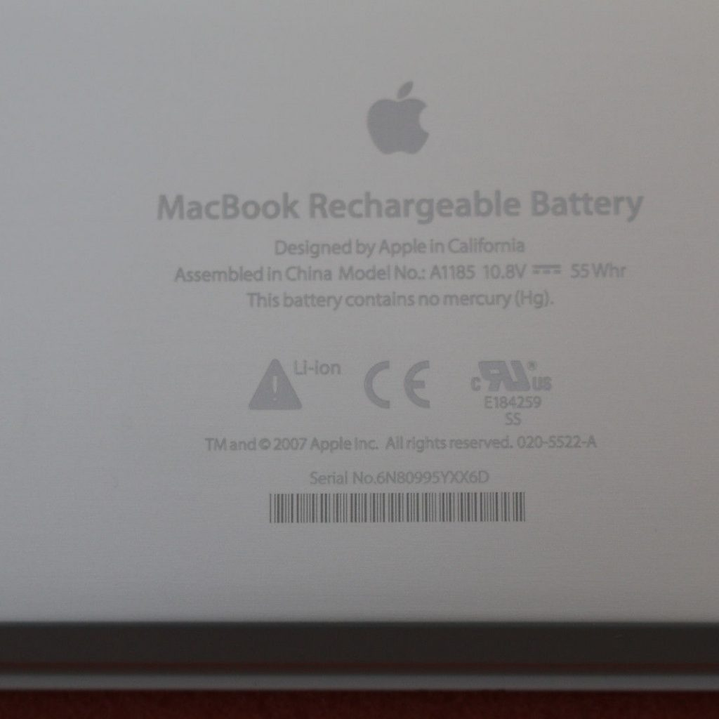 Pin MacBook A1181