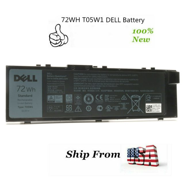 Pin Laptop Dell TWCPG RDYCT T05W1