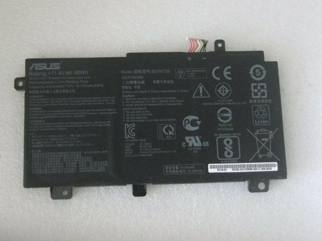 Pin laptop Asus B31n1726
