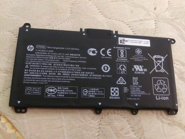 Pin laptop HP 250 G7