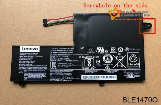 Pin laptop Lenovo Felx 4 1470 1570 1580