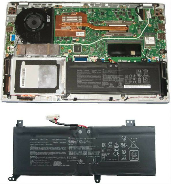 Pin laptop Asus VivoBook 14 F412DA C21N1818