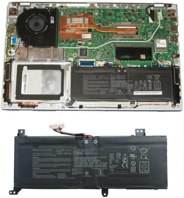 Pin laptop Asus VivoBook 14 X412FJ B21N1818