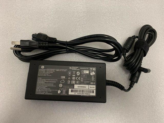Sạc laptop HP 19.5V - 6.15A - 120W chân xanh